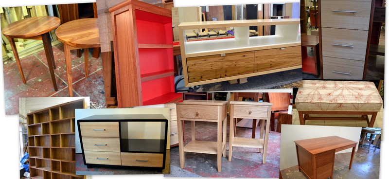 custom furniture from the workshop at Wilkins and Kent